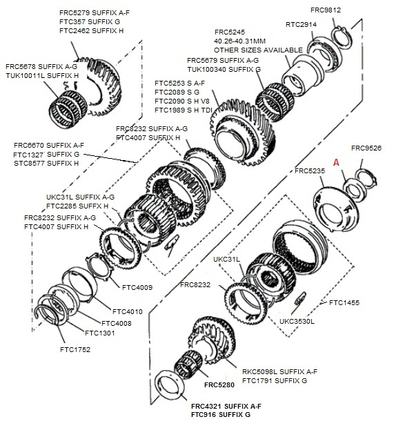 A Diagram For 2002 Land Rover Freelander Timing