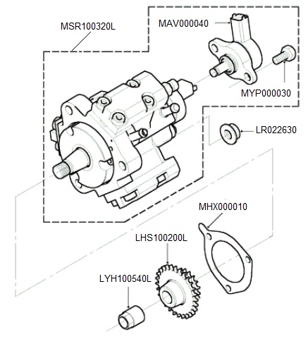 Td4 Fuel Injection Pump