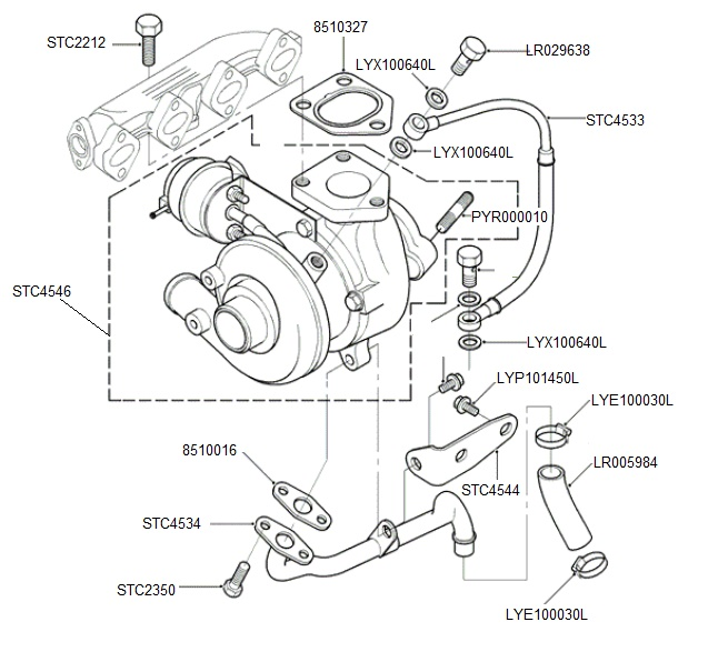 2005 range rover parts diagram