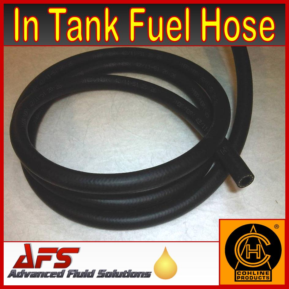 medium resolution of 100mm 4 inch x 7 3mm 5 16 i d in tank fuel hose type 2190 dn6 r10 spec cohline