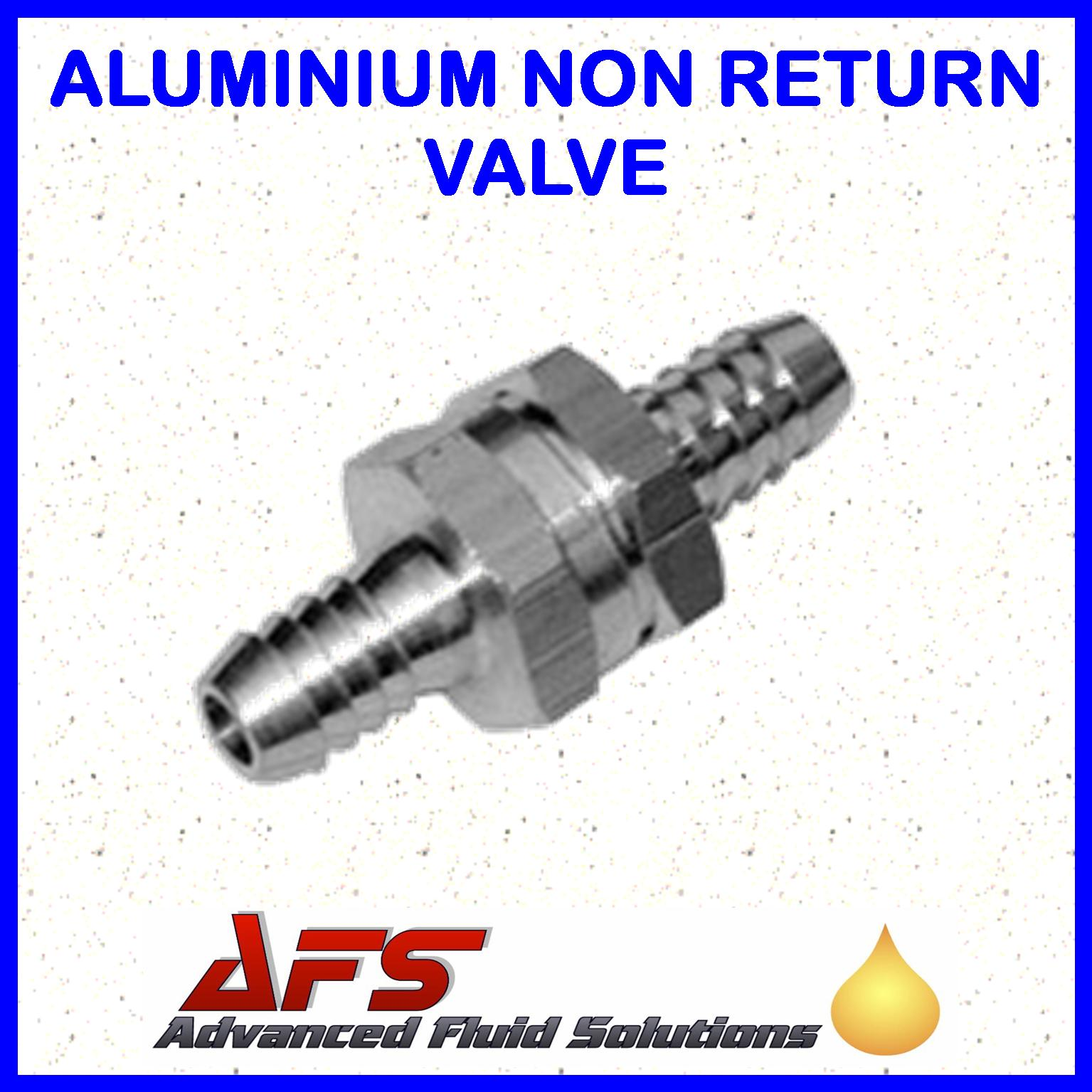 hight resolution of 8mm 5 16 straight non return valve aluminium fuel check valve air water pipe tube hose