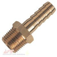 Brass Male 1 BSPT x 3 4 19mm Brass Hose Tail Fitting