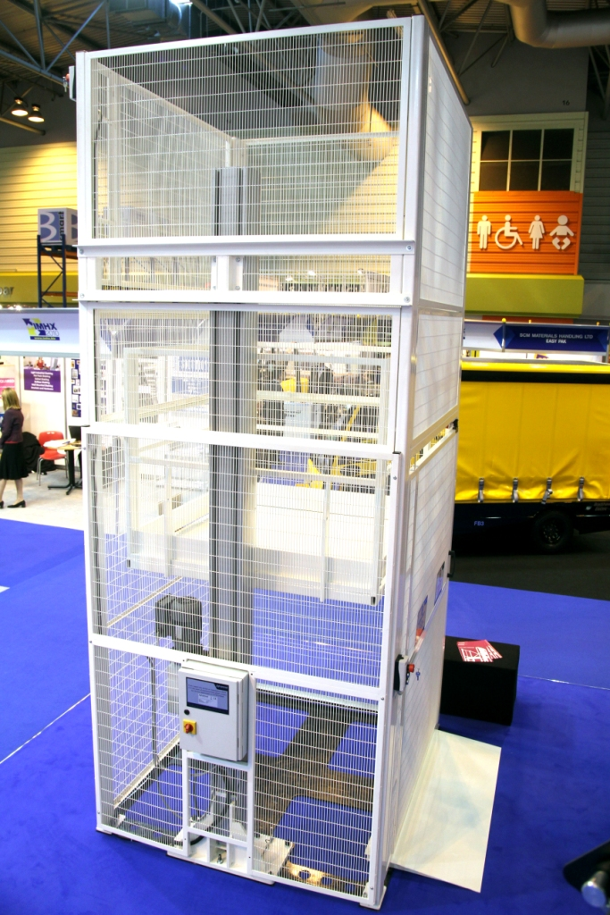 Mezzanine Goods Lifts  Advanced Handling