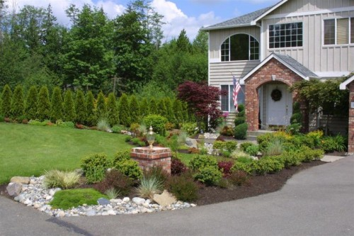 increase landscaping curb appeal
