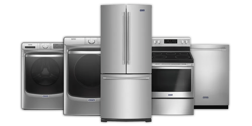 maytag kitchen appliances refinish or replace cabinets appliance service in schaumburg il advanced whirlpool