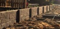Panel & Post Retaining Wall Suppliers - Retaining Perth
