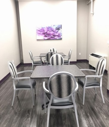 Remodeled Dining at Advanced