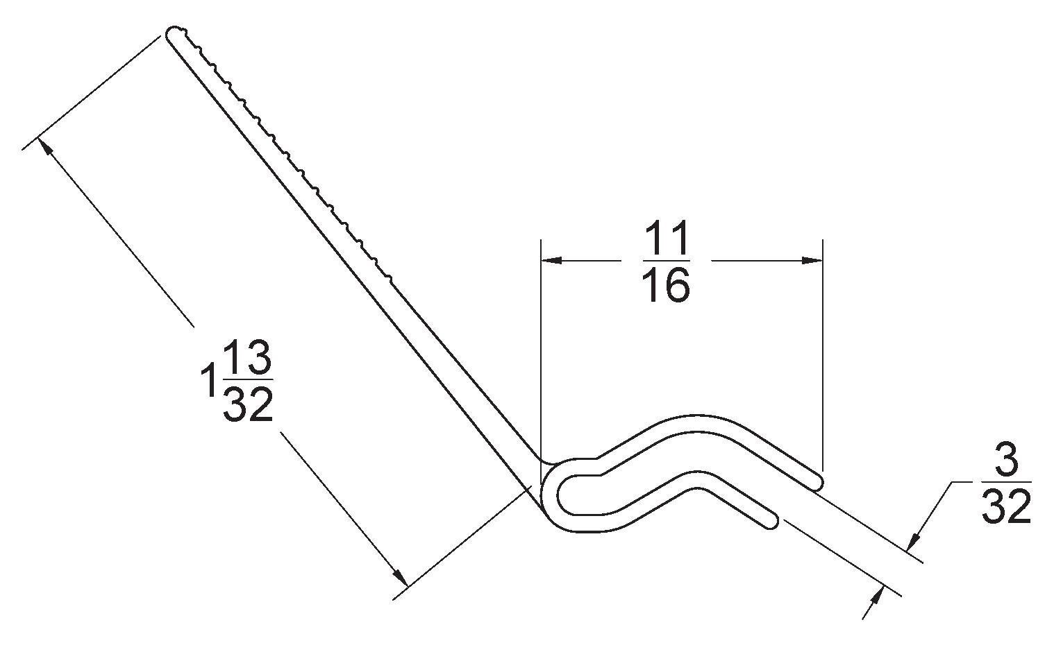 Reverse Jamb Angle Seal