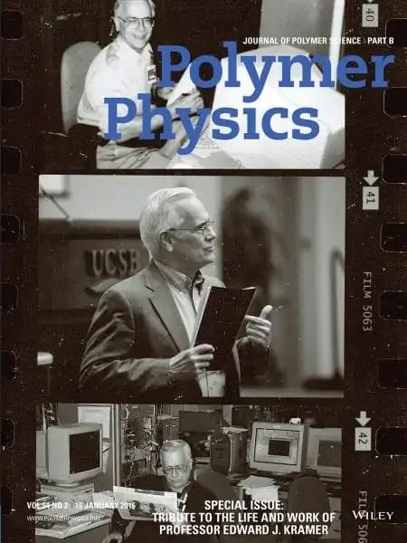 Journal Of Polymer Science Honors Ed Kramer