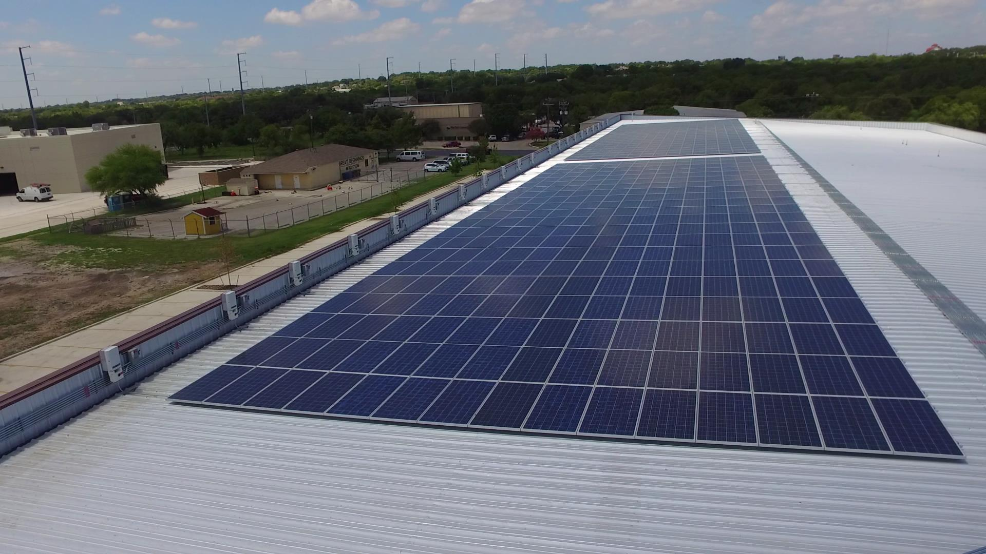 hight resolution of commercial solar installs by advanced solar u0026 electric llc commercial solar panel wiring