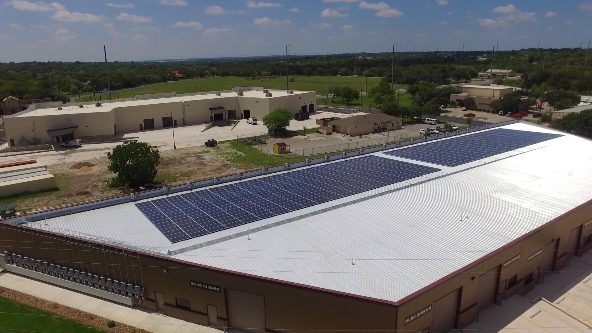 hight resolution of timco large commercial solar project installed by advanced solar electric llc san antonio food bank solar panel install