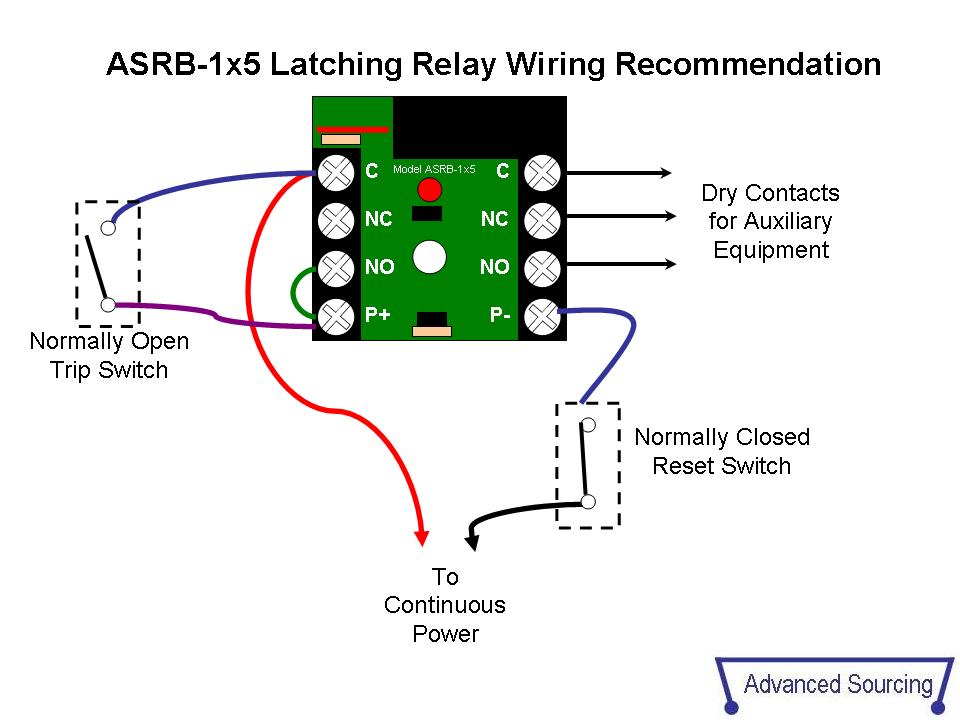 Wiring A Relay To Latch