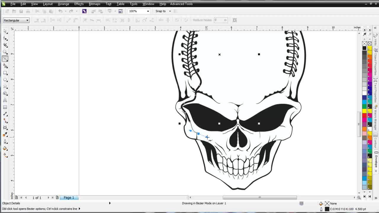 CorelDRAW X6 Tutorial Working with The Smart Fill Tool