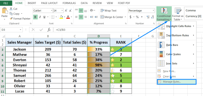 06 Examples of Excel Conditional Formatting_19