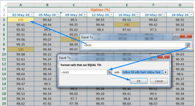 06 Examples of Excel Conditional Formatting_9