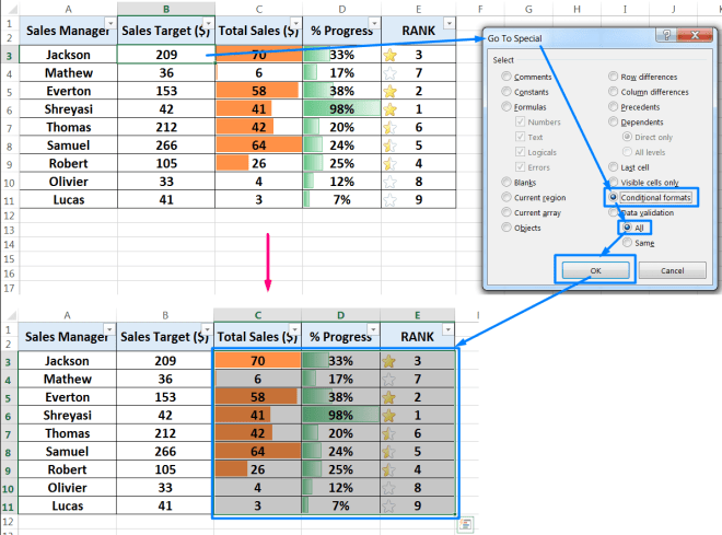 How to Check Conditional Formatting in Excel_2