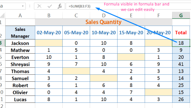 How to Protect Formula in Excel_1