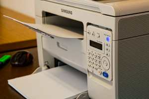 old fax machine that can be replaced by EDI technologies