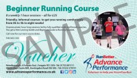 beginners running course