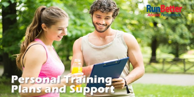 RunBetter Personal Training Plans and Support