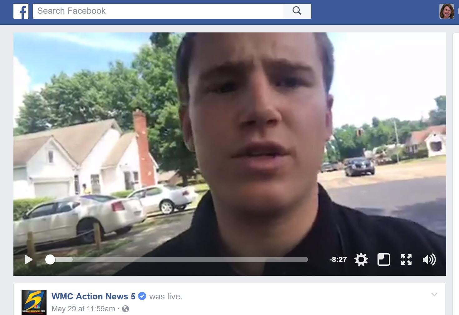 Using Facebook Live for better TV |