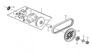 Sym scooter en quad onderdelen