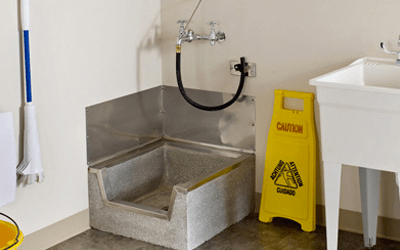 Commercial Mop Sink  Floor Cleaning Chemicals Products