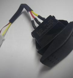 yamaha g16 g19 g22 g23 1996 up 48v electric golf cart forward reverse switch [ 1600 x 1200 Pixel ]