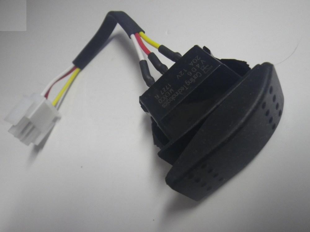 medium resolution of yamaha g16 g19 g22 g23 1996 up 48v electric golf cart forward reverse switch