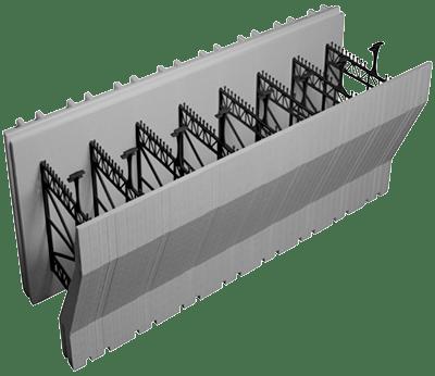 Advantage ICFs Insulating Concrete Forms 8 Inch Brick