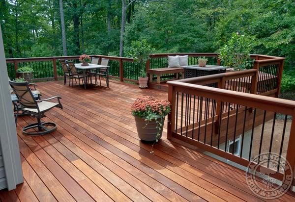 kitchen trim prefab outdoor frames ipe decking gallery - deck pictures photos