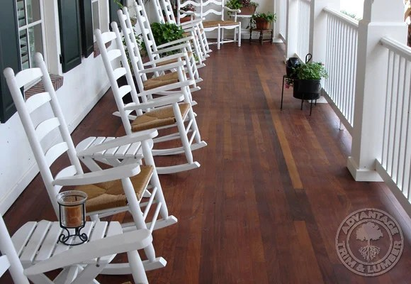 Ipe Tongue  Groove Porch Decking Gallery