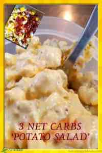 Low Carb Potato Salad Recipe