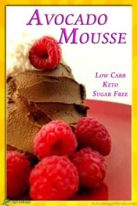 Keto Chocolate Avocado Mousse Recipe