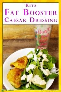 Keto Fat Booster Caesar Dressing Recipe