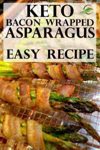 Easy Keto Asparagus Recipe - Bacon Wrapped Asparagus. Low Carb   Keto   Sugar Free   Gluten Free. Perfect for your Keto Diet or for your Keto Holiday Menu. ~Angela of @advantagemeals