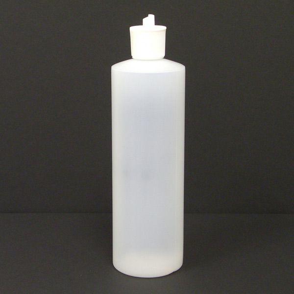 8 Oz Plastic Bottle  Flip Top Cap for Sale  Massage Oil