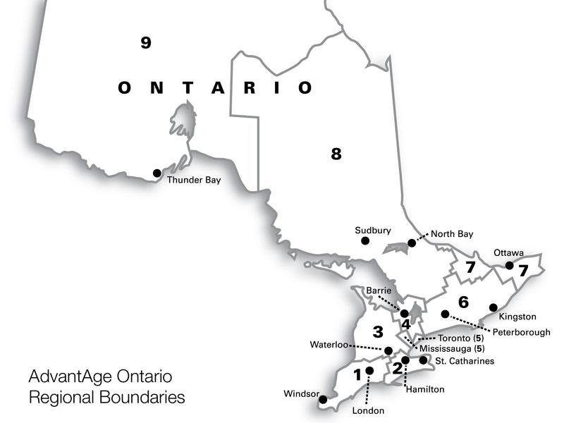 Region Search Results