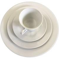 """10"""" White Dinner Plate"""