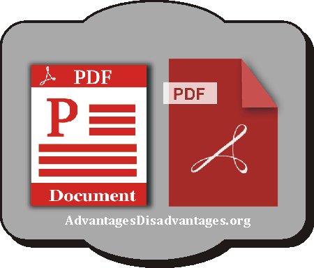 Advantages and disadvantages of PDF