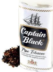 Captain Black White Pipe Tobacco 12oz cans 1.5oz pouches