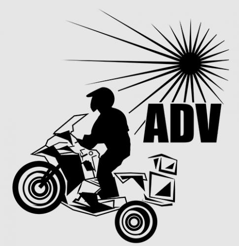 ADV BMW GS rider