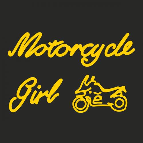 Motorcycle ADV Girl