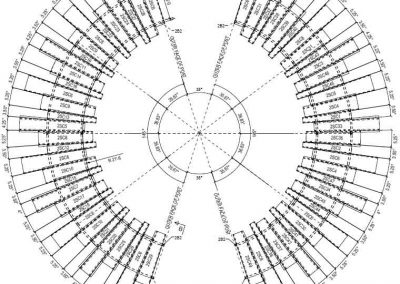 Samples- Structural BIM, Steel detailing, shop drawings
