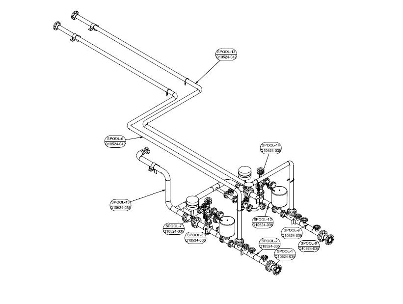 Mechanical Isometric Drawing Services, Engineering services
