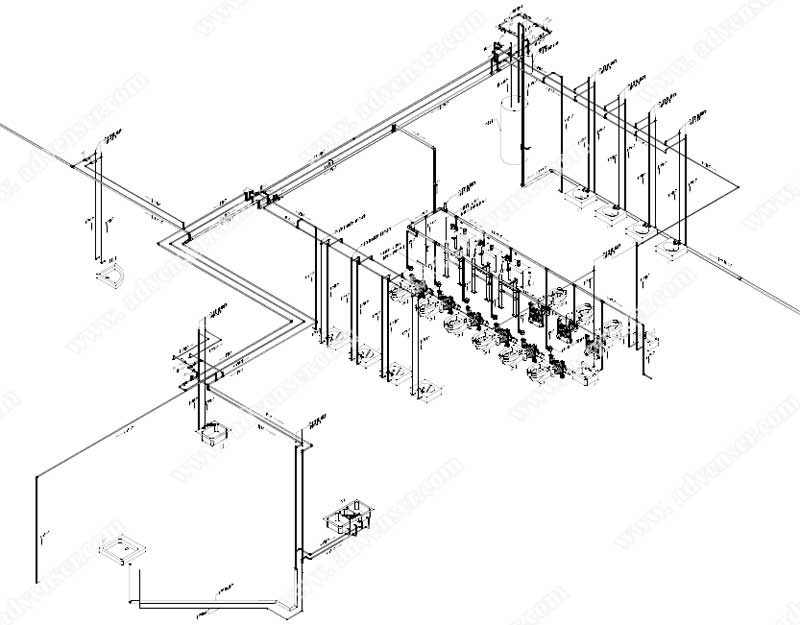 Isometric Drawing Services, Mechanical isometric drawing