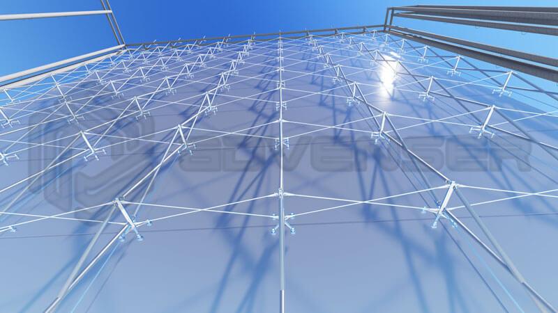 Faade Spider Glazing Detailing Services Aluminum Glazing