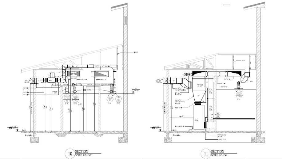 MEP Shop Drawings, MEP HVAC services