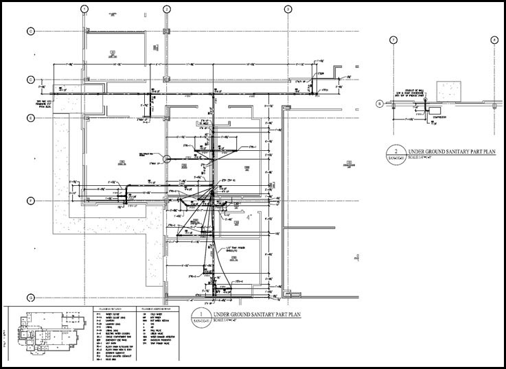 Pipe Spool Drafting Services, MEP HVAC Spool drawing