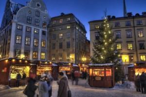 Julemarked i Stockholm